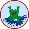 Frosch Schwimmabzeichen